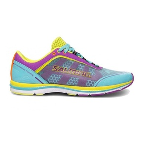 Shoes Salming Speed 3 Women Turquoise / Purple, Salming