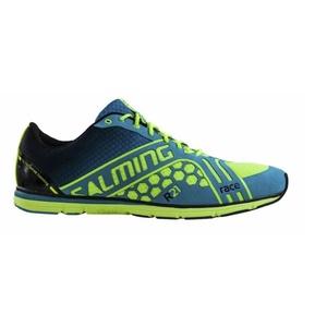 Shoes Salming Race Women Yellow / Blue, Salming