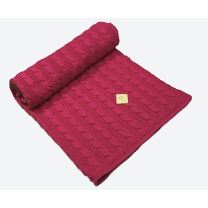Knitted children's Merino blanket Kama Q101 114, Kama