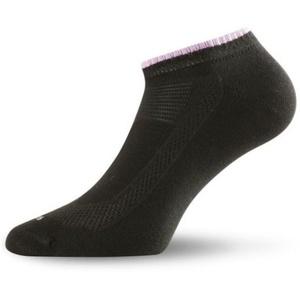 Women cotton socks Lasting Ara 906 black, Lasting