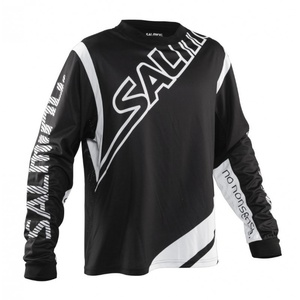 Goalkeeper jersey Salming Phoenix Goalie JSY SR Black / White, Salming