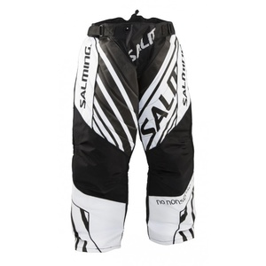 Goalkeepers pants Salming Phoenix Goalie Pant JUNIOR Black / White, Salming