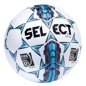 Football ball Select FB Team FIFA white blue, Select
