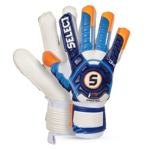 Goalkeepers gloves Select Goalkeeper gloves 34 Protec white blue, Select