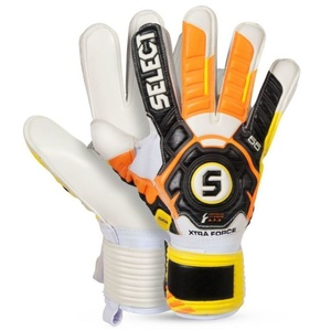 Goalkeepers gloves Select Goalkeeper gloves 55 Xtra Force black yellow, Select