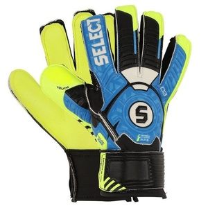 Goalkeepers gloves Select 03 Youth blue yellow, Select
