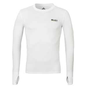 Compression shirt Select Compression T-shirt L/S 6902 white, Select