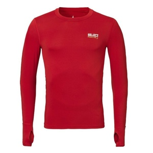 Compression shirt Select Compression T-shirt L/S 6902 red, Select