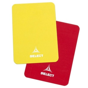 Cards for referees Select Referee motorcycleds red yellow, Select