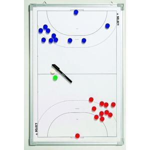 Tactical board Select Tactics board alu handball white, Select