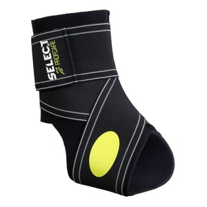 Bandage ankle Select Ankle support 2-parts black, Select