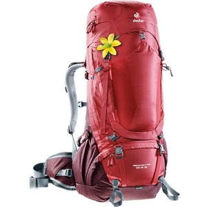 Backpack Deuter Aircontact PRO 55 + 15 SL cranberry-aubergine, Deuter