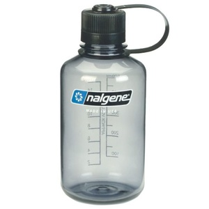 Bottle Nalgene Narrow Mouth 0,5l Gray 2078-2030, Nalgene