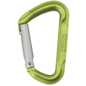 Carabiner  Rock Empire Racer Straight light green, Rock Empire