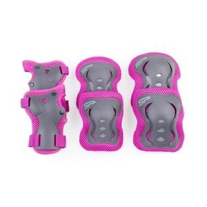Set children protectors Spokey SHIELD 3-dílná, pink, Spokey