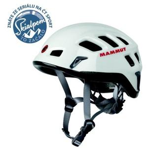Climbing helmet Mammut Rock Rider white-smoke size 2, Mammut