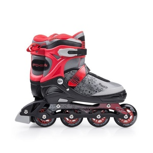 Roller skates Spokey SNAP gray-red, Spokey