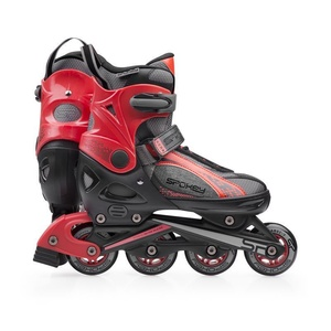 Roller skates Spokey TORQUE 3rd black and red, Spokey