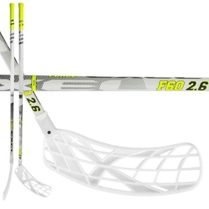 Floorball stick Exel F60 WHITE 2.6 103 ROUND MB, Exel