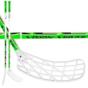 Floorball stick Exel V60 GREEN 2.9 98 ROUND MB, Exel