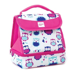 Snack box Spokey LUNCH BOX PINK, Spokey