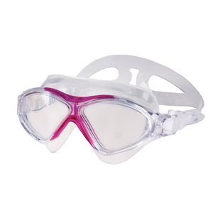 Swimming glasses Spokey VISTA JUNIOR transparent pink, Spokey