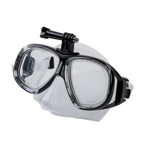 Mask to swimming Spokey TAMUK CAMERA with with a handle to camera, Spokey