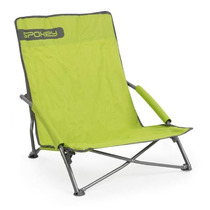 Spokey PANAMA beach folding chair green-gray, Spokey