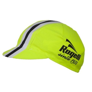 Sports cap Rogelli RETRO, reflection yellow 009.953., Rogelli