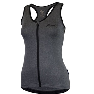 Women sports top Rogelli ABBEY, grey highlights 008.004., Rogelli