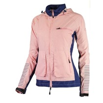 Women running jacket Rogelli DESIRE, blue-pink highlights 840.865., Rogelli