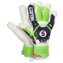 Goalkeepers gloves Select Goalkeeper gloves 88 For Grip blue green, Select