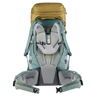 Backpack Deuter Aircontact 55+10 clay / teal, Deuter