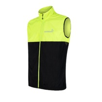 Men vest Sensor Neon black / reflex yellow 18100040, Sensor