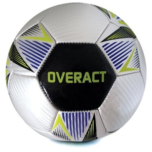 Spokey OVERACT football ball size. 5, black, Spokey