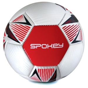 Spokey OVERACT football ball size. 5, red, Spokey