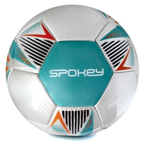 Spokey OVERACT football ball size. 5, turquoise, Spokey