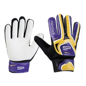 Spokey CATCH II goalkeeper gloves yellow-purple, Spokey