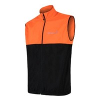 Men vest Sensor Neon black / reflex orange 18100039, Sensor