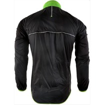 Men ultra light jacket Silvini GELA MJ801 black-green, Silvini