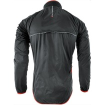 Men ultra light jacket Silvini GELA MJ801 black-red, Silvini