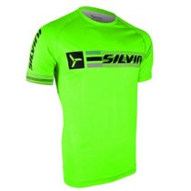 Men shirt Silvini PROMO MT855 green, Silvini
