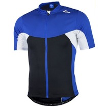 Children bike jersey with mesh Rogelli RECCO 2.0 with short sleeve, blue 001.1380., Rogelli
