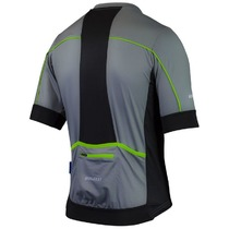 Airy bike jersey Rogelli PASSO with short sleeve, grey 001.072., Rogelli