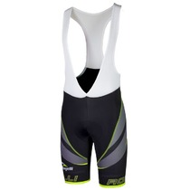 Men cycling shorts Rogelli Andrano 2.0 black-reflective yellow 002.252., Rogelli
