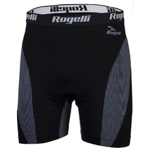 Seamless Rogelli BOXER SHORTS with unisex cycling, black 070.102., Rogelli