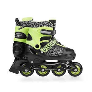 Spokey FLOKI Roller skates, adjustable, green, Spokey