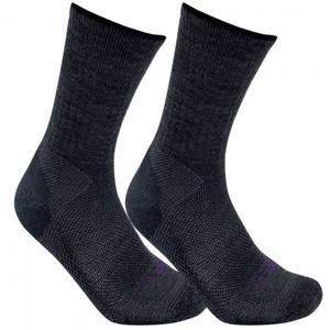 Socks LORPEN Merino Blend Light Hiker 2 Pack charcoal