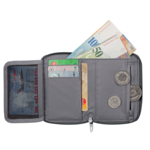 Wallet MAMMUT Zipper Wallet Black 0001, Mammut