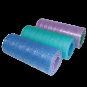 Sleeping pad YATE double-layer 12 SOFT FOAM blue, green, pink, Yate